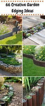 Landscape Edging Design Ideas 66 Creative Garden Edging Ideas Outdoor Stuff Garden