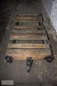 vintage factory furniture. Vintage Factory Cart Coffee Table Furniture I