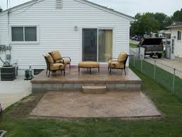 backyard raised patio ideas. Decor Of Raised Concrete Patio Ideas For Small Backyards Large And Beautiful Backyard E
