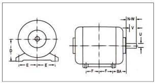 Abb Electric Motor Frame Size Chart What Is Meant By Frame Size Of Motor
