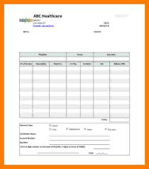 Sample Medical Bill Format In Word 12 Medical Bill Format Simple Cash Bill