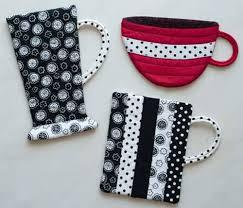 Cups & Mugs Hot Pads - Free Sewing Tutorial | Fun cup, Tabletop ... & Cups & Mugs Hot Pads - Free Sewing Tutorial Adamdwight.com