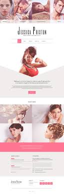makeup artist websites templates hair stylist website template