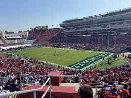 Los Angeles Memorial Coliseum Section 217 Home Of Usc