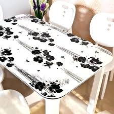 glass table covers coffee table cover ideas dining room transpa cloth for dressing top glass round