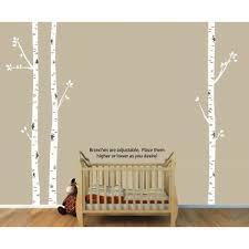 birch tree wall art and birch tree