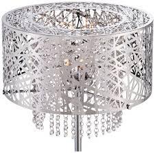 chandelier floor lamp home lighting. Possini-euro-chrome-nest-crystal-chandelier-floor-lamp- Chandelier Floor Lamp Home Lighting
