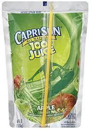 capri sun 100 juice