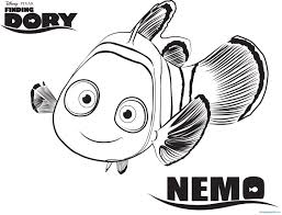 Finding Nemo Coloring Book Colouring Characters Pdf Sheets