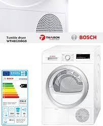 Máy sấy quần áo Bosch WTH85200GB có Chương trình và chức năng gì?