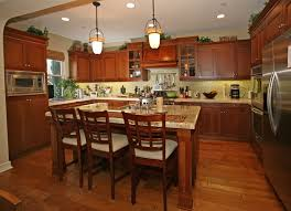 Go with either a lighter or darker stain for hardwood floors, or choose a light colored vinyl, linoleum or tile floor. 25 Cherry Wood Kitchens Cabinet Designs Ideas Designing Idea