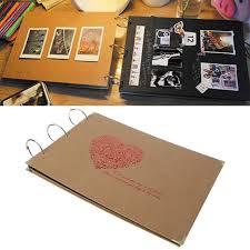 Love Heart Diy Handmade Photo Album Bithday Wedding Anniversary Gift