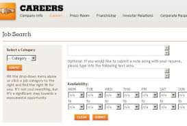 form for job 5 really popular online job application forms burger king