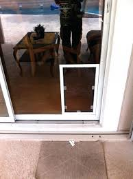 sliding glass door with dog door built in pet door pet door for screen door exterior sliding glass door with dog