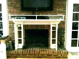 how to mount tv on brick wall mount on brick mounting on brick fireplace