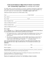 com deadline approaching for nbhs alumni association scholarship applications