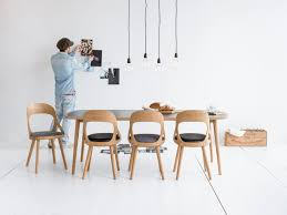 enchanting awesome contemporary dining chairs wooden with black seats and table and bulbs lighting eetkamerstoelen hout google zoeken