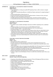Electronics Design Engineer Courses Electrical Engineer Electronics Engineer Resume Velvet Jobs