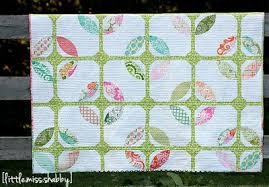 Cathedral Windows in Springtime | FaveQuilts.com &  Adamdwight.com
