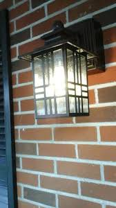 hampton bay exterior wall lantern with built in electrical outlet gfci. hampton bay mission style black with bronze highlight outdoor wall lantern built-in electrical outlet (gfci) 30264 at the home depot - mobile exterior built in gfci r