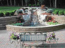 retaining water features