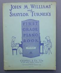 john m williams shaylor turner s first grade piano book 1st williams