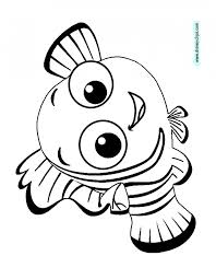 Finding Nemo Characters Coloring Pages Nemo Coloring Pages Free