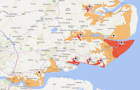 severe weather warnings issued along the south essex coast with