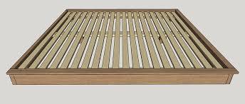 build a king sized platform bed