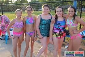 Teen pool party pics