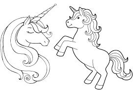 Disegni Di Unicorni Migliori Pagine Da Colorare