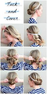 Cute Easy Hairstyles 64 Best I Love This Twist On The Regular Old Headband Routine Tuck And