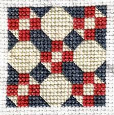 Free Quilt-Inspired Cross Stitch Patterns & Hour Glass Quilt Blocks Adamdwight.com
