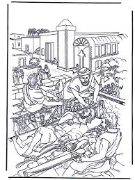 Haealing Of The Paralysed Man 2 New Testament