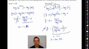 common core algebra ii unit 4 lesson 11 solving exponential equations using logarithms v2 you