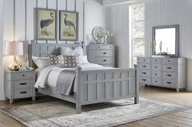 Felicity 4pc Queen Bedroom Set - Grey