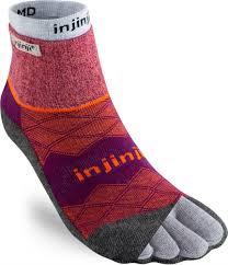 Injinji Liner Socks Size Chart Injinji Womens Liner Runner Socks Mini Crew