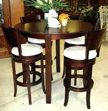 high top kitchen table set cool round tables outdoor with fire pit