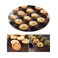 Nướng Bánh Làm Lạnh Giá Chống Dính Lưới Khay Nướng Inox Bánh Bánh Bánh Mì  Sấy Lò Nướng Chảo Mát Đựng Phụ Kiện|Khay Nướng Bánh