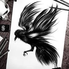 черные эскизы для тату Forfun