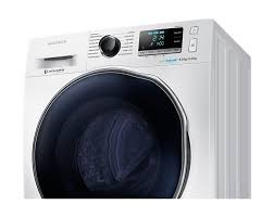 samsung washing machine white. samsung 8/6 kg front load washer dryer with eco bubble (wd80j6410aw) \u2013 white washing machine h