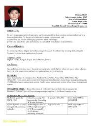 Resume Sample For Hotel And Restaurant Management Graduate Best Best