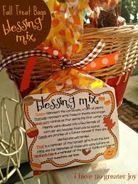 Blessing Mix. Make ahead with the kids and talk about each item's meaning.  Snacks