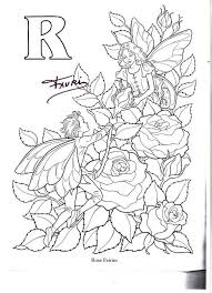 Small Picture 59 best FLOWER FAIRY ALPHABET images on Pinterest Fairy coloring
