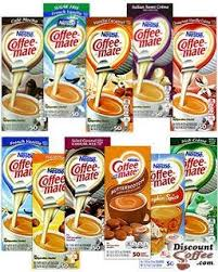 If you want to experience donuts and coffee, you're going to have to do it the old fashioned way. Nestle Coffee Mate 11 Assorted Liquid Creamer Flavors Discountcoffee Com
