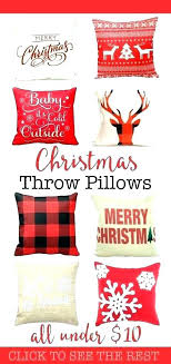 Marvelous Christmas Throw Pillows Pillow Christmas Throw Pillows Target