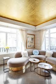 million dollar decorators share their best design tricks paint ceilingceiling colorgold