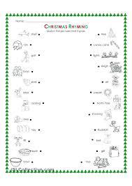 Free Worksheets For Kindergarten Esl Christmas Coloring – pranaboard.co