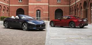 2018 maserati mc. modren maserati above my18 grancabrio and granturismo top my17  bottom throughout 2018 maserati mc