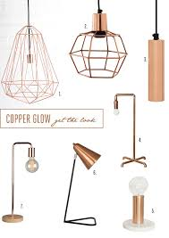 copper cylinder hanging lamp from weylandts 4 copper lamp base from lim 5 small lamp with marble base from the artisan